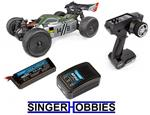 Associated 1/14 Reflex 14T RTR Radio Control Buggy 4WD Lipo Combo ASC20175C HH