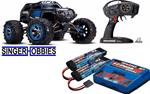 Traxxas 56076-4 1/10 Summit 4WD RTR TQi, 2 x LIPO BATTERY & CHARGER BLUE