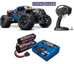 Traxxas 77086-4 X-Maxx 4WD 8S Brushless VXL RC Truck w/ 2993 LiPO Combo TRA1