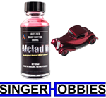 Alclad II Lacquers Candy Ruby Red Enamel 1 oz Airbrush Paint NEW ALC703 HH