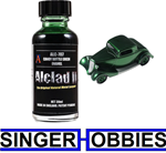Alclad II Lacquers Candy Bottle Green Enamel 1 oz Airbrush Paint NEW ALC707 HH