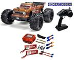 ARRMA 1/10 OUTCAST 4x4 4S BLX Brushless Radio Control Truggy RTR ARA102692L HH