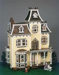 Corona Concepts 8002 Greenleaf The Beacon Hill Wooden Dollhouse Kit CCZY8002