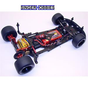 CRC 1/10 GenX-10RT Radio Control World GT-R Car Kit CLN1810 HH