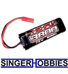 RedCat Racing HX-3800MH-B 3800 Ni-MH Battery 7.2V with Banana 4.0 RER03495 HH
