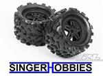 "Pro-Line  1103-13 Big Joe 3.8"" All Terrain Tires Mntd Fr/Re (2) PROC1104 GP"