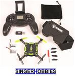 Rage Orbit 2.4Ghz Radio Control FPV Camera Pocket Drone RTF w/ LIPO RGR3050 HRP
