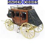Artesania Latina Wooden Model Kit: Stage Coach 1848 1/10 LAT20340 HH