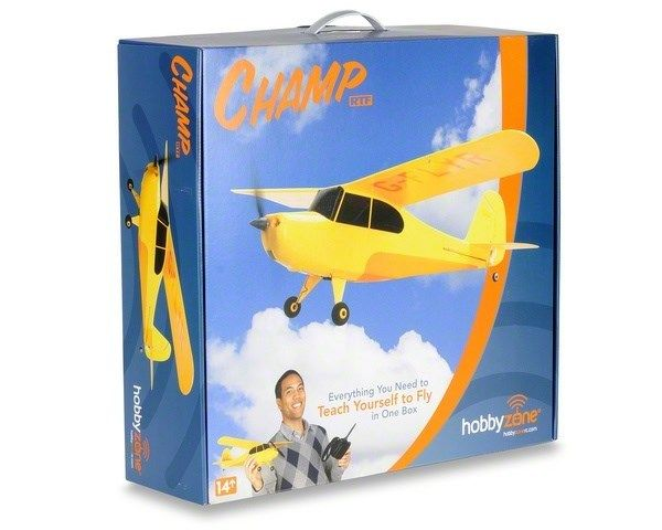 HobbyZone RC Champ RTF Radio Control Airplane w/ Battery/Charger